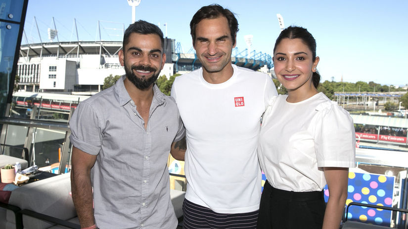 Roger Federer, Virat Kohli