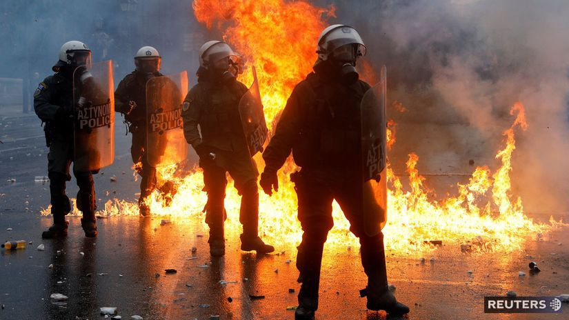 macedónsko, grécko, demonštrácie