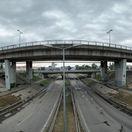 D1, rondel, križovatka Prievoz