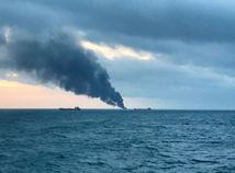 Výbuch v Kerčskom prielive: Lode nelegálne prevážali ruský plyn do Sýrie