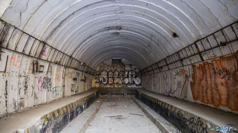 SR Devínska Kobyla bývalá raketová základňa BAX