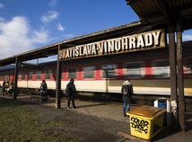SR doprava železnice stanica Vinohrady Bratislava vlak