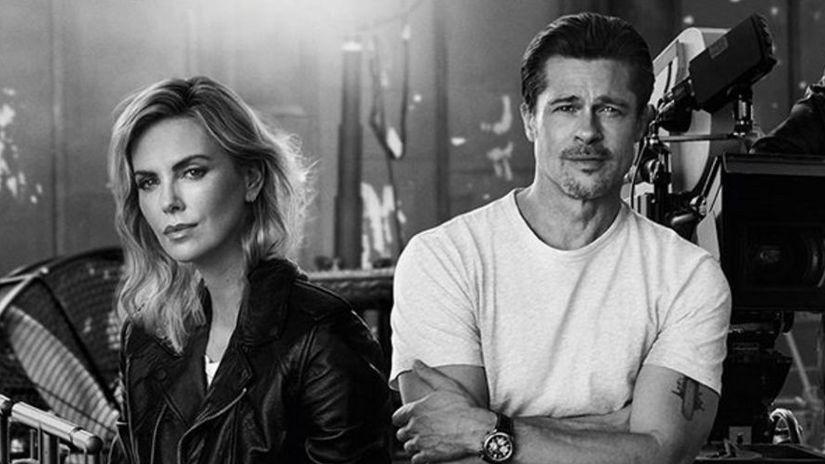 Brad Pitt a Charlize Theron
