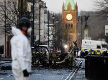 británia, severné írsko, londonderry, auto, výbuch, explózia, útok, teroristi