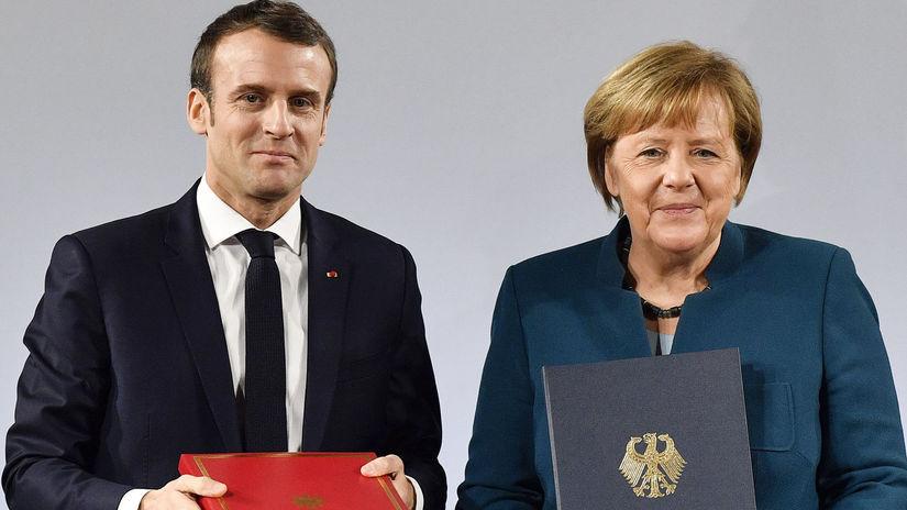 Nemecko Francúzsko Elyzejská zmluva podpis...