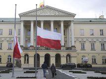 poľsko, vlajky, gdansk