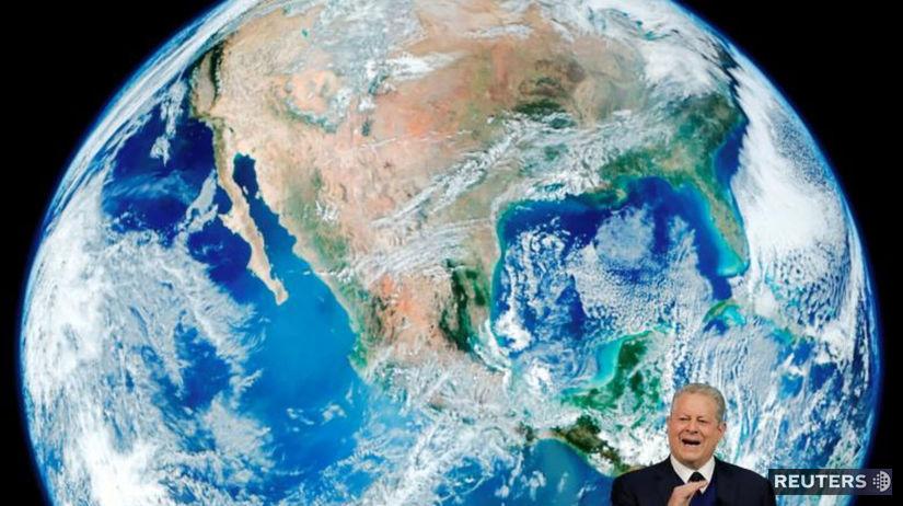 Al Gore, Davos