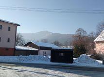 smog, sneh, obloha, kláštor pod znievom