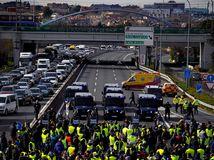 uber, španielsko, štrajk