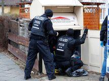 razia, polícia, nemecko