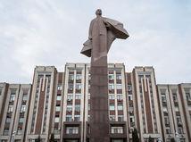 Tiraspol, socha Lenina, Podnestersko