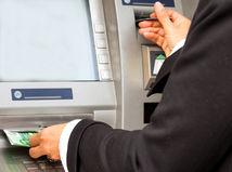 bankomat, peniaze, úspory, banka