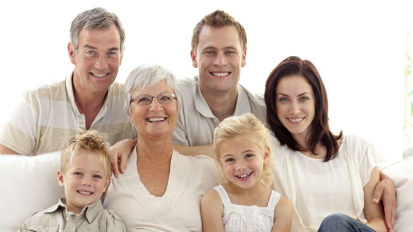 rodina, rodičia, starí rodičia, dôchodcovia,...