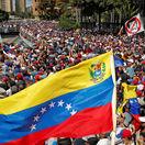 VENEZUELA, protest, demonštrácia
