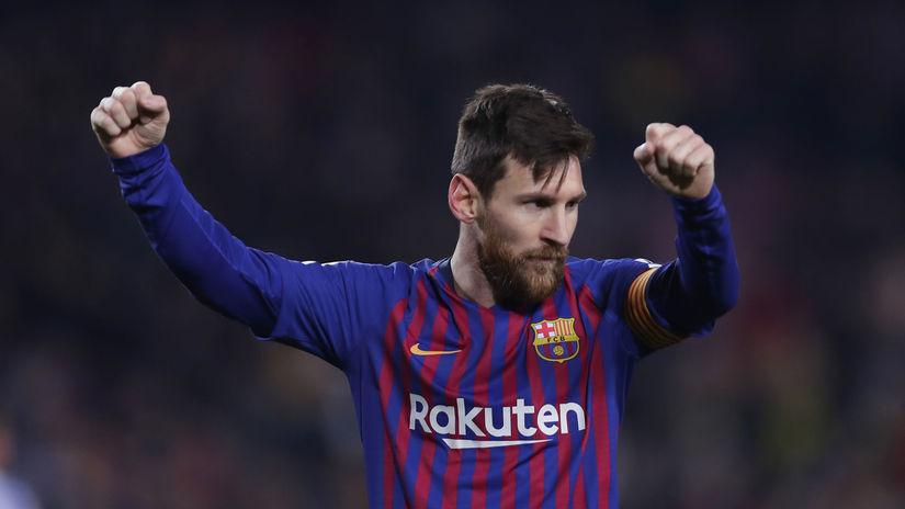 1. Lionel Messi