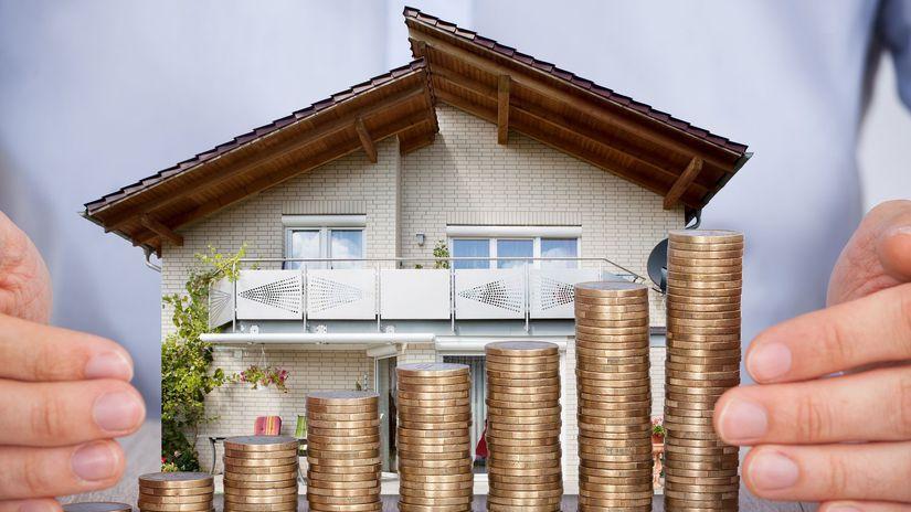 dom, peniaze, eura