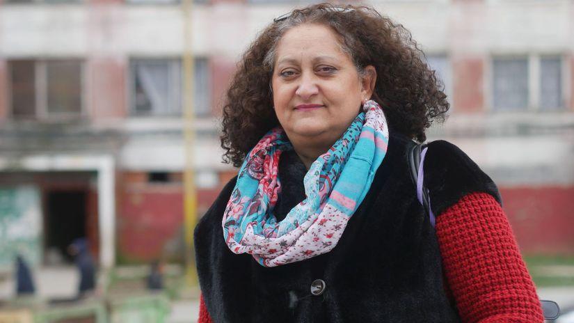 Jarmila Vaňová, terénna pracovníčka