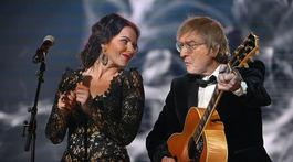Katarína Knechtová a spevák Miroslav Žbirka
