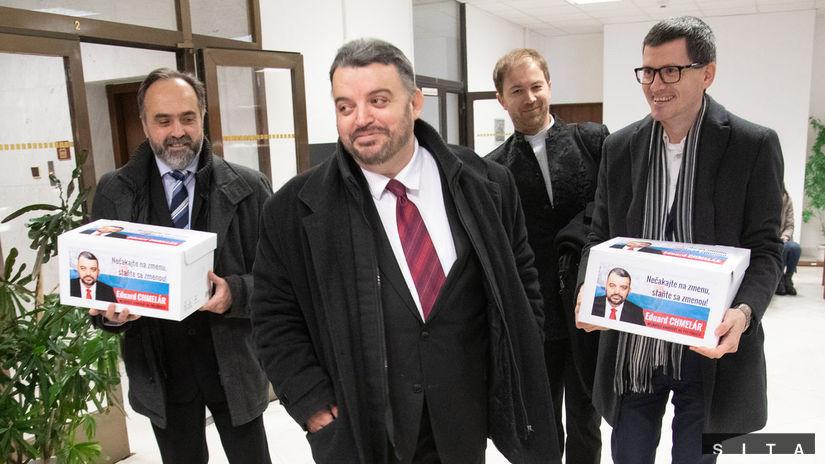eduard Chmelár,hárky, kandidát prezidenta