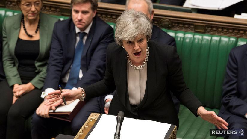 tehresa mayová, brexit, parlament, snemovňa,...