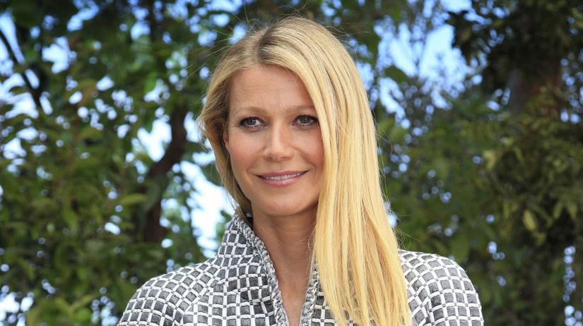 Herečka Gwyneth Paltrow na archívnom zábere.