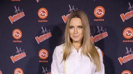 Na párty šou The Voice Česko Slovensko prišla aj moderátorka Erika Judínyová.
