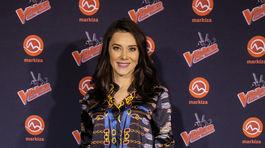 Na párty šou The Voice Česko Slovensko prišla aj moderátorka počasia Katarína Kullová.