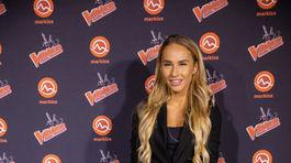 Na párty The Voice Česko Slovensko dorazila aj Lucia Mokráňová.