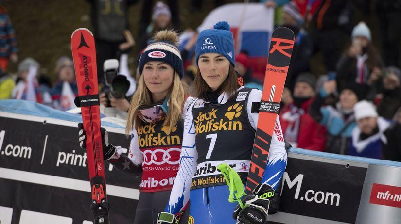Petra Vlhová, Mikaela Shiffrinová