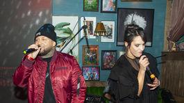 Raper Kali a speváčka Jana Kirschner si spolu strihli dueto.