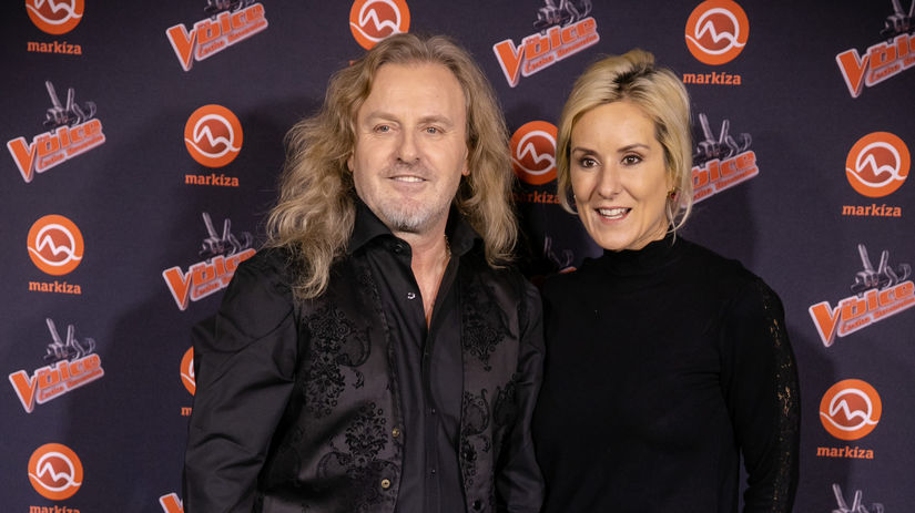 Rocker Pepa Vojtek a jeho manželka Jovanka.