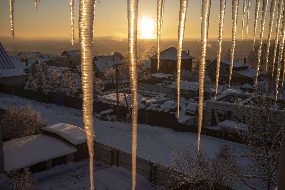 Rusko, cencúle, zima, sneh, mráz, studené počasie