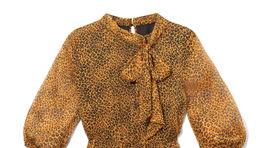 Šaty so zvieracím vzorom Reserved, predávajú sa za 59,99 eura.