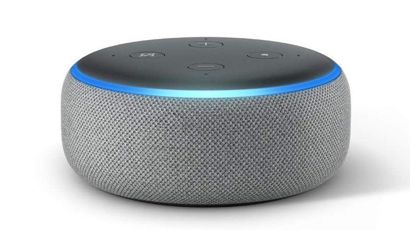Amazon, Echo Dot, hlasová asistentka