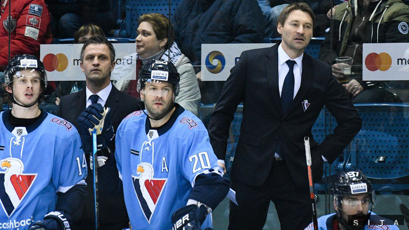 HOKEJ-KHL: Bratislava - Minsk