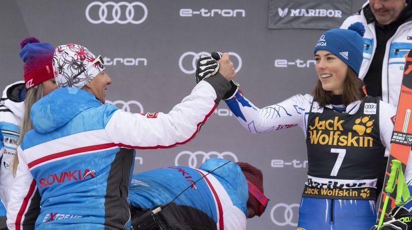 Slovinsko Maribor SP obrovský slalom ženy