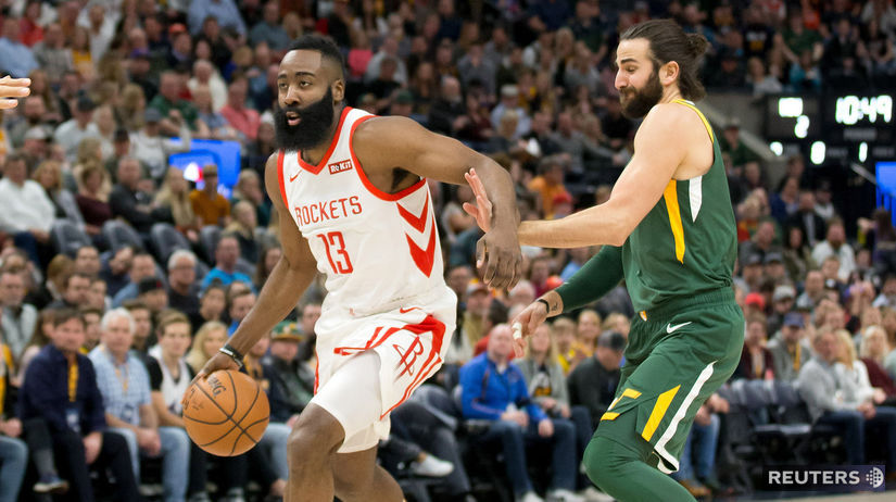 BASKETBALL-NBA-UTA-HOU/ harden