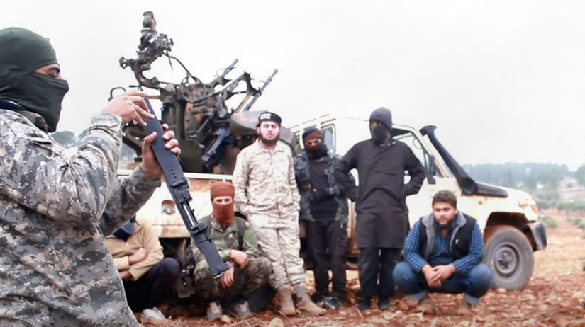 Sýria Idlib al-Káida skupina HTS hrozba