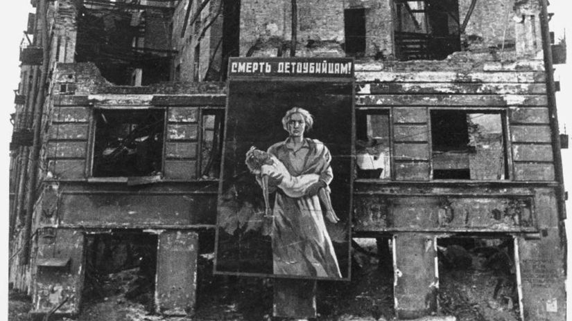 Leningrad, blokáda, 1942