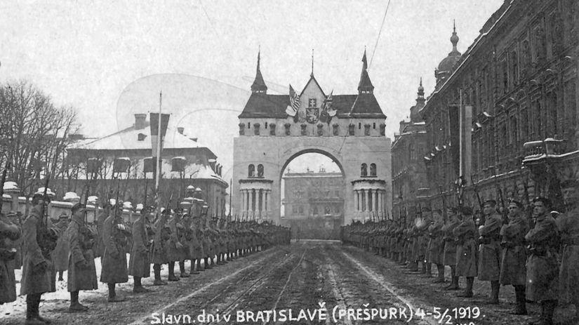 Slavobrána, Bratislava, Prešporok