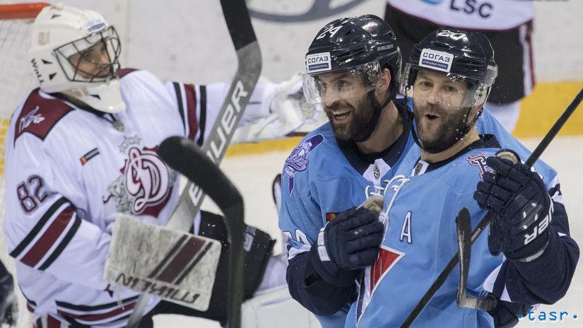 SR Hokej KHL Slovan Riga BAX