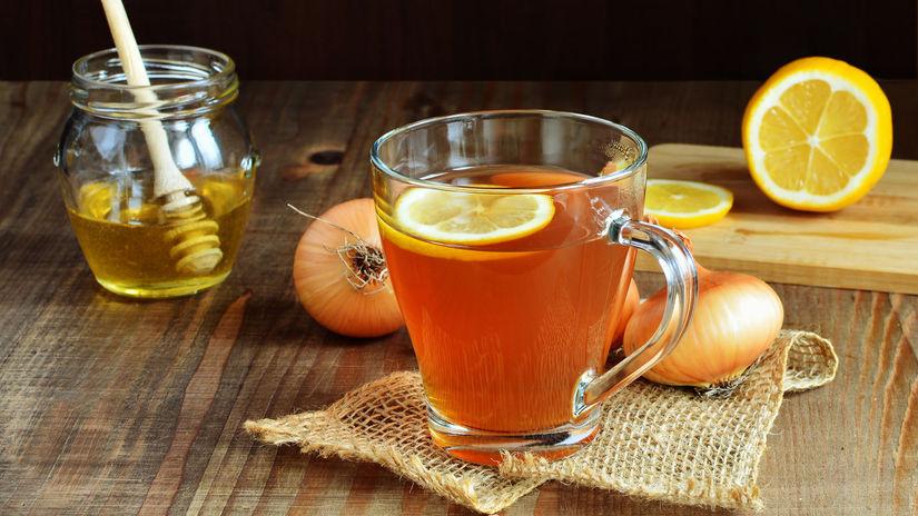 Cibuľový čaj, nachladnutie