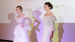 b08c8581ebe9 Svadobné šaty očarili Trenčín - navrhla ich aj manželka Miku ...