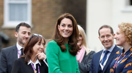 Vojvodkyňa Catherine z Cambridge navštívila Lavender Primary School v rámci podpory Place2Be Children's Mental Health Week 2019.