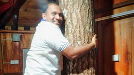 Srí Lanka, domček na strome, Manoj Peiris