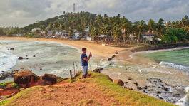 Srí Lanka, Mirissa, Parrot island