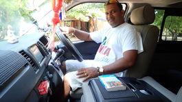Srí Lanka, šofér, Manoj Peiris, volant