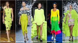 Trendy Jar/Leto 2019, 18 trendov, sezóna, móda, neónové farby
