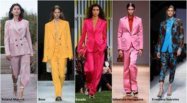 Trendy Jar/Leto 2019, 18 trendov, sezóna, móda, pánsky štýl vo farbách