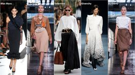 Trendy Jar/Leto 2019, 18 trendov, sezóna, móda, plisé a volániky